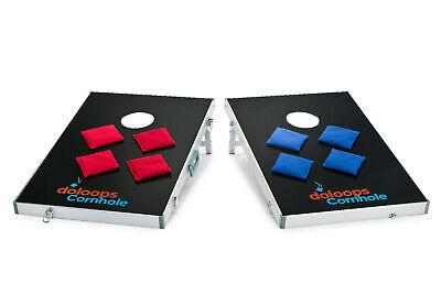 Cornhole-Freizeitset (2 Boards und 8 Bags 400 Gr.) mit praktischer