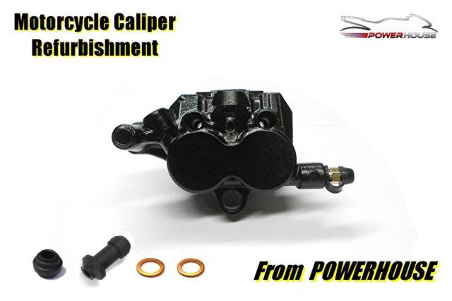 Triumph Bonneville T100 rear brake caliper refurbishment service 2002-2010