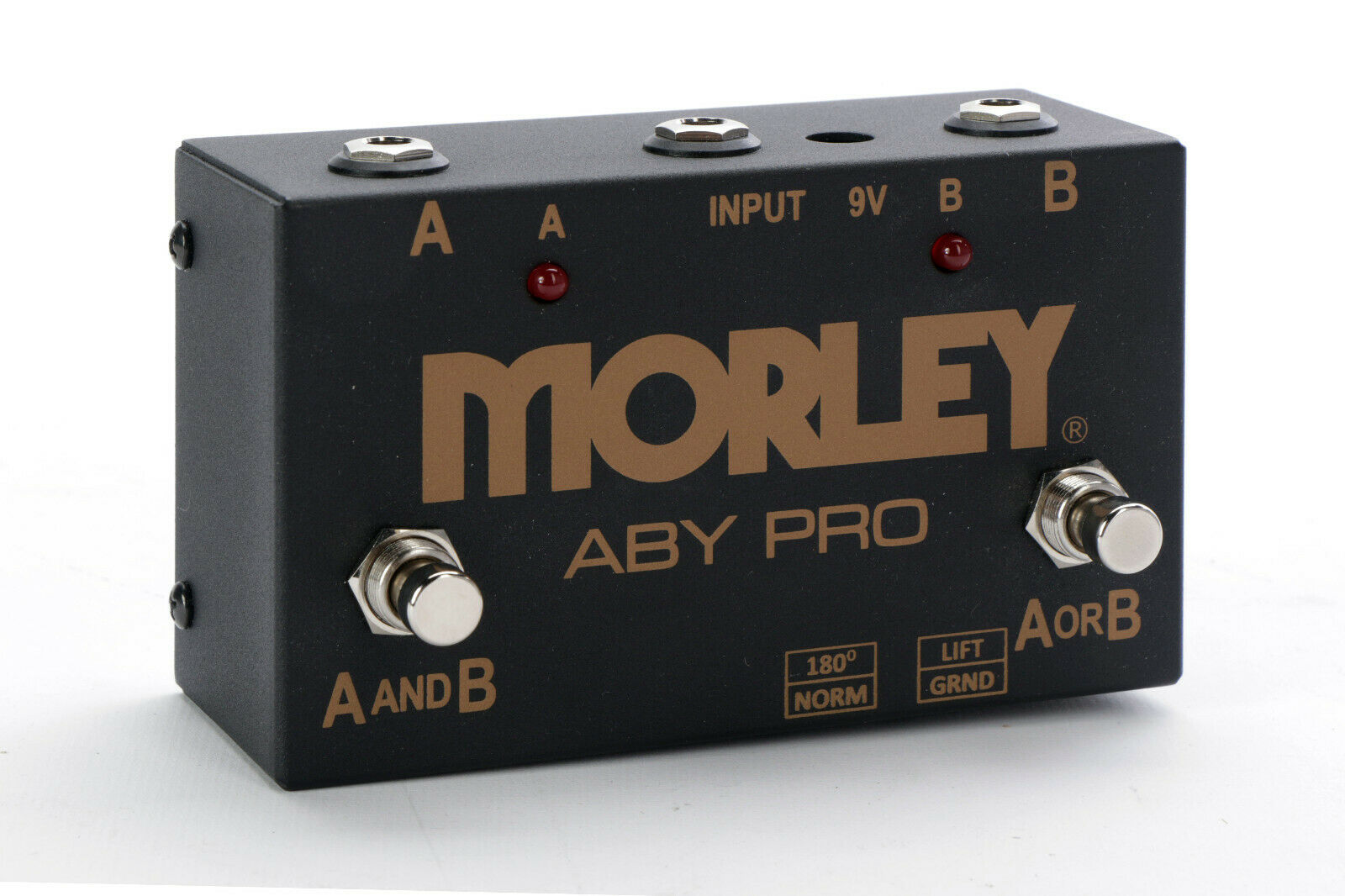 Morley ABY Pro 2-Button ABY Signal Switcher Pedal - $109.95