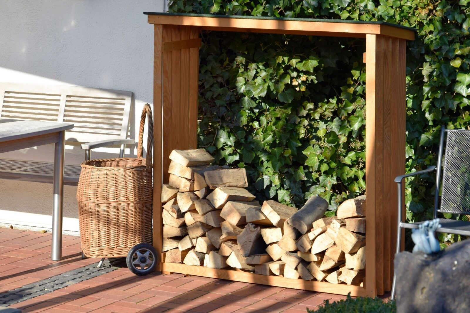 kaminholz drauen latest brennholz lagern draussen diy firewood rack page firewood hoarders club. Black Bedroom Furniture Sets. Home Design Ideas