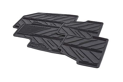2015-2018 Chevrolet Trax GM Front & Rear Black All Weather Floor Mats 42364954