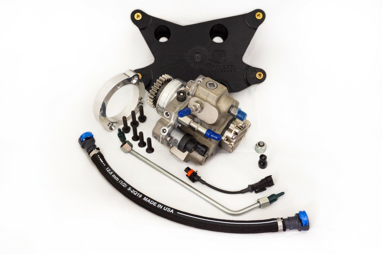 S S Diesel Cp3 Conversion Kit With Pump For 2019 2020 Dodge Ram 6 7l Cummins Ebay