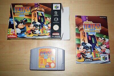 Nintendo 64 *Magical Tetris Challenge* N64 OVP CiB Near Mint mit Anleitung TOP