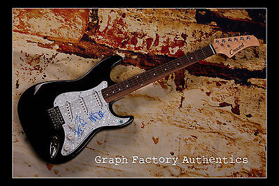 GFA Best Day of My Life * AMERICAN AUTHORS * Signed Electric Guitar AD1 COA
