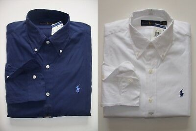 NEW Men Polo Ralph Lauren Button-down Shirt Size S M L XL XXL - STANDARD FIT