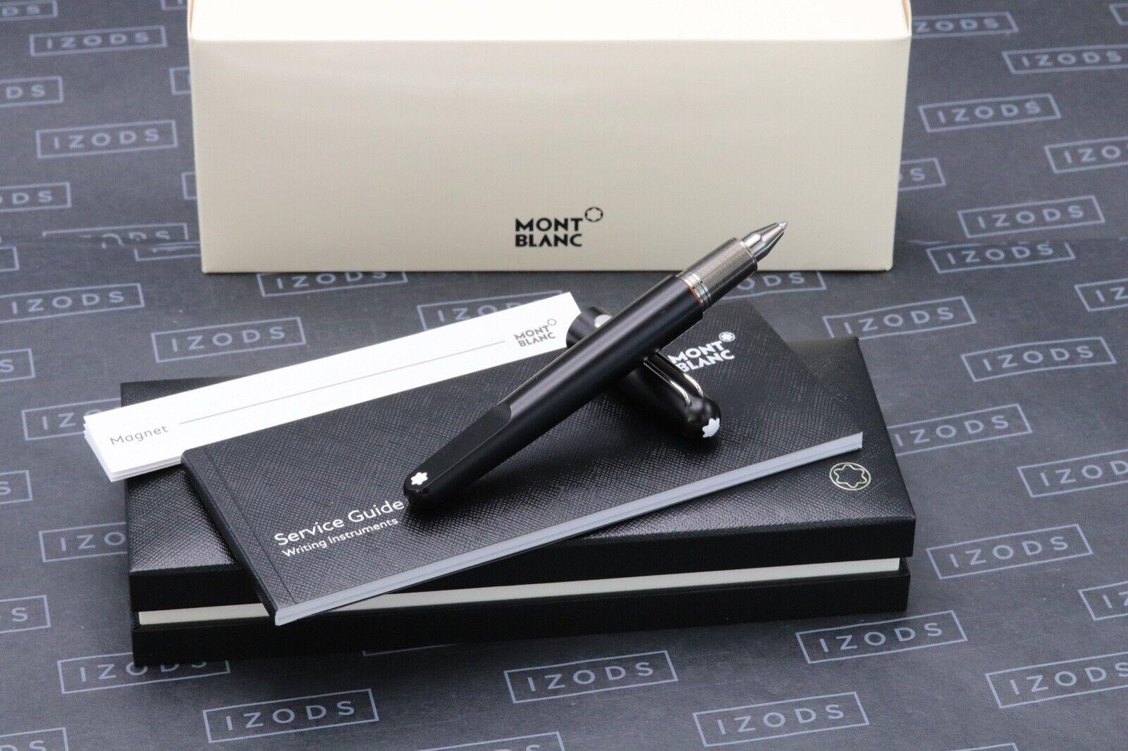 Montblanc M Marc Newson Ultra Black Ballpoint Pen