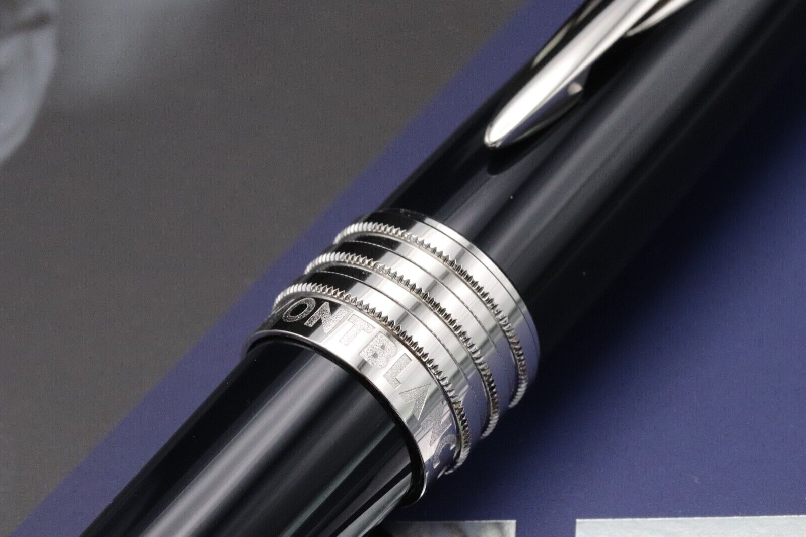 Montblanc Great Characters JFK Blue Special Edition Ballpoint Pen 2