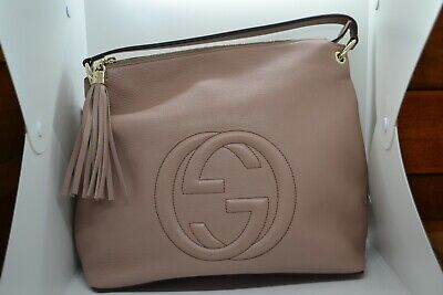 Authentic GUCCI Shoulder Bag 408825 A7M0G 6812 2Way with Tassel Charm New COA