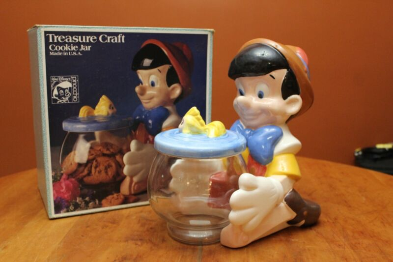 Vintage Treasure Craft Cookie Jar Disney