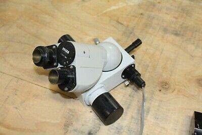 Carl Zeiss 47 30 11-9901 Binocular Microscope Head Illuminated Adapter