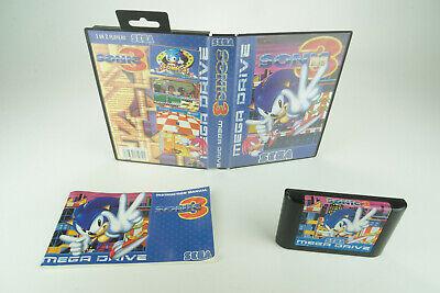 Usado, Sega Mega Drive *Sonic 3* OVP mit Anleitung #1 comprar usado  Enviando para Brazil
