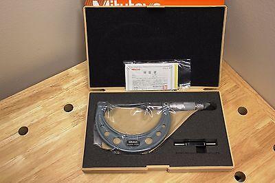 Mitutoyo 123-104 Disk Micrometer Ratchet Stop 75-100mm Range 0.01mm