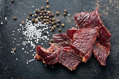 1kg Beef Jerky GYM JERKY Original 25x40g 60% Eiweiß bei 2g Fett Low Carb