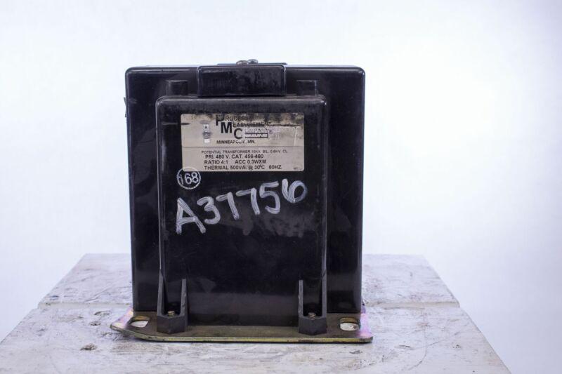 Process Measurement Company PMC A37756 Cat 456-480 Potential Transformer