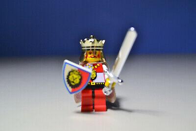 Lego CASTLE KING Royal Knights rare Lion cape minifigure  6090