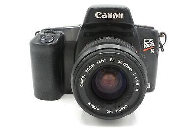 Canon Rebel S Aufo Focus 35mm SLR Camera + Choice of Lenses (e.g. 35-80mm)