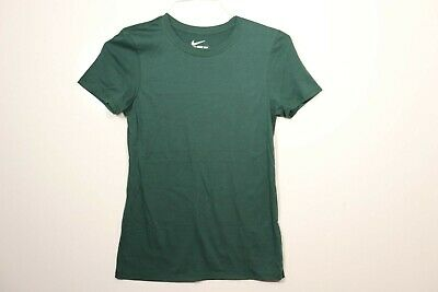 Nike Women's Core Short Sleeve T-Shirt Green 716213-341 (S) New Without Tags