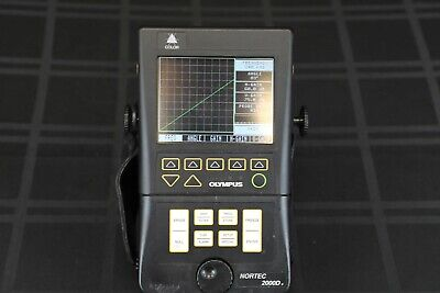 Olympus Nortec 2000d Plus - Ultrasonic Flaw Detector - Panametrics Ndt Ut