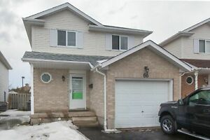 66 Killarney Cres- 3 BEDROOM HOUSE IN KITCHENER($1899/MONTH)