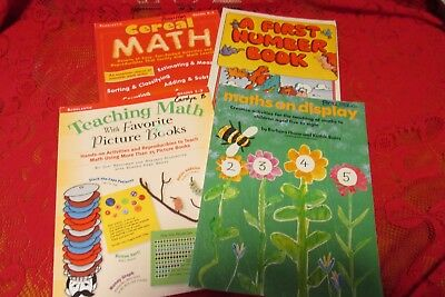 Lot of 4 Lower Elementary Math Teacher Resource -
