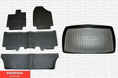 Genuine Honda All Weather Floor Mat Kit And Trunk Tray Fits: 2018-2020 Odyssey Honda Trunk Tray