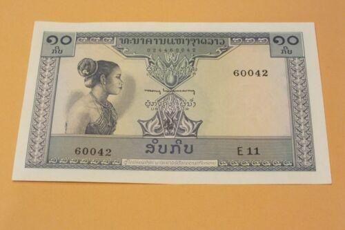 National Bank of Laos 10 Kip