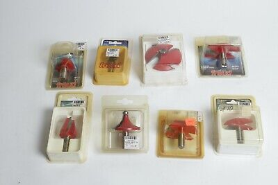 8 Freud 12 Shank Router Bits