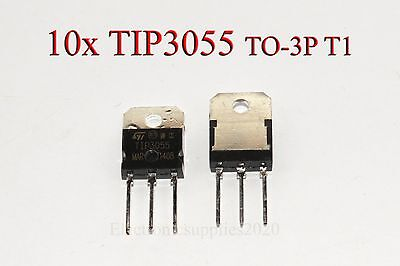 Tip3055 3055 Transistor Npn 60v 15a New Good Quality T1 New - Usa Shipping