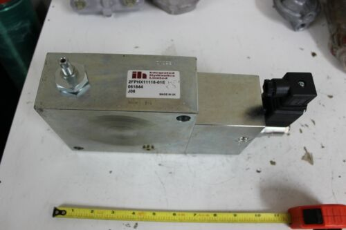 INTEGRATED HYDRAULICS LIMITED IAR100P405 Hydraulic Directional Control Valve