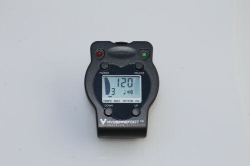 VIVOBAREFOOT JM-62 Mini Pulsating Metronome Clip-on Electronic Digital