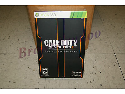 Call of Duty Black Ops II 2 Hardened Issue Xbox 360 NEW