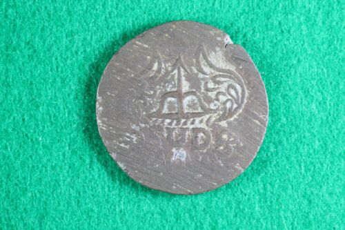 1813 Mexico 8 Reales Oaxaca SUD Copper Coin - War of Independence  D13441