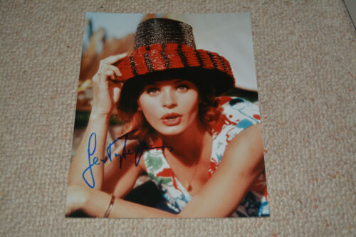 SENTA BERGER signed autograph In Person 8x10 20x25 cm CAST A GIANT SHADOW