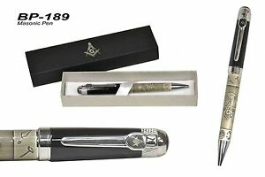 BEAUTIFUL MASONIC PEN W/GIFT BOX, The Best Gift Item for Fellow Mason, Limited