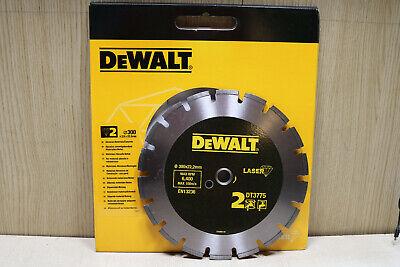 Dewalt 300mm 12 Diamond Blade Electric And Petrol Stihl Saws 22.2mm 20mm Bore