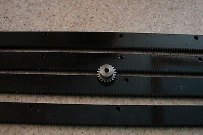 Cnc Stepper Motor Mech Rack Gear 96 Rack 4x24pcs A 20t 14 Pinion Gear