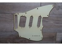 FENDER® WBW PICKGUARD USA QUALITY PAWN SHOP JAGUARILLO® SPECIAL 3PLY WHITE PG f
