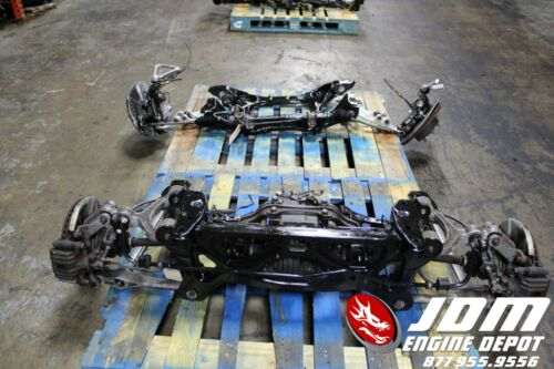 92 02 MAZDA RX7 1.3L FRONT AND REAR SUBFRAMES JDM 13B
