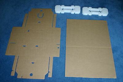 200 Empty Laptop Postal Boxes Set Foam Highest Quality Smurfit Kappa Made in UK!