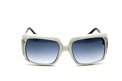 Large White Frame Sunglasses Oversized Square Women Vintage Retro (White Frame Sunglasses For Women)