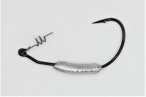 5 pk. Weighted Swimbait Hooks Mustad 91768 Ultra Point Fishing