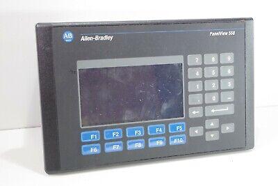 Allen-bradley 2711-b5a2 Panelview 550 Frn 4.46 Ser H