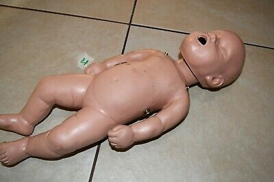 Cpr Savers Aha Professional Infant Baby Cpr Training Manikin Doll Rare 515 2