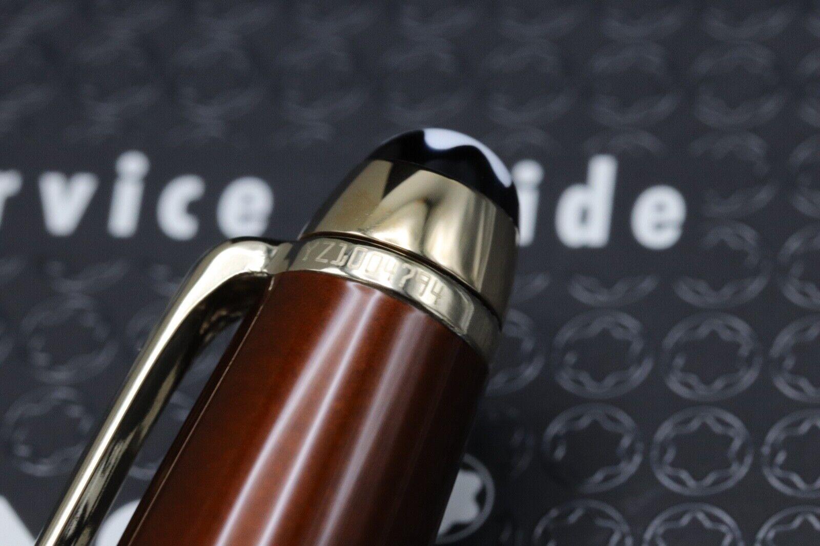 Montblanc Meisterstuck 164 Classique Solitaire Citrine Ballpoint Pen 3