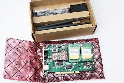 NEU ATCOM AX 2G4A 2 GSM 4 analog Karte FXO Asterisk VOIP SMS IMEI // PCI
