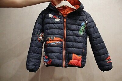 SAVE THE DUCK, ultra light jacket for a boy,6-7 years old,demi-season