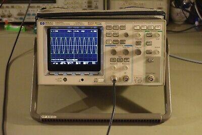 Agilent Hp 54616c Color Lcd Digital Oscilloscope 500mhz 2gss 3 Yr Warranty