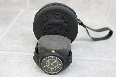 Versus Versace  Fire Island Black Silicone Women's Watch