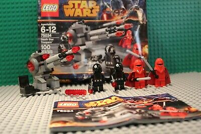 Lego Star Wars Death Star Troopers 75034 Complete w/ box & instructions
