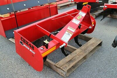 Bush Hog Cbx48 48 Box Blade Attachment For Sub-compact Tractors. Category 1